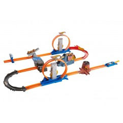 Hot Wheels Track Builder Turbo Track Set